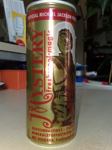 Michael Jackson Mystery drink can